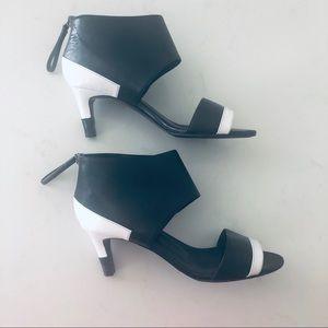 Pierre Hardy leather kitty heels 35.5